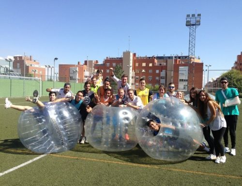 Fútbol Burbuja para despedidas de soltero