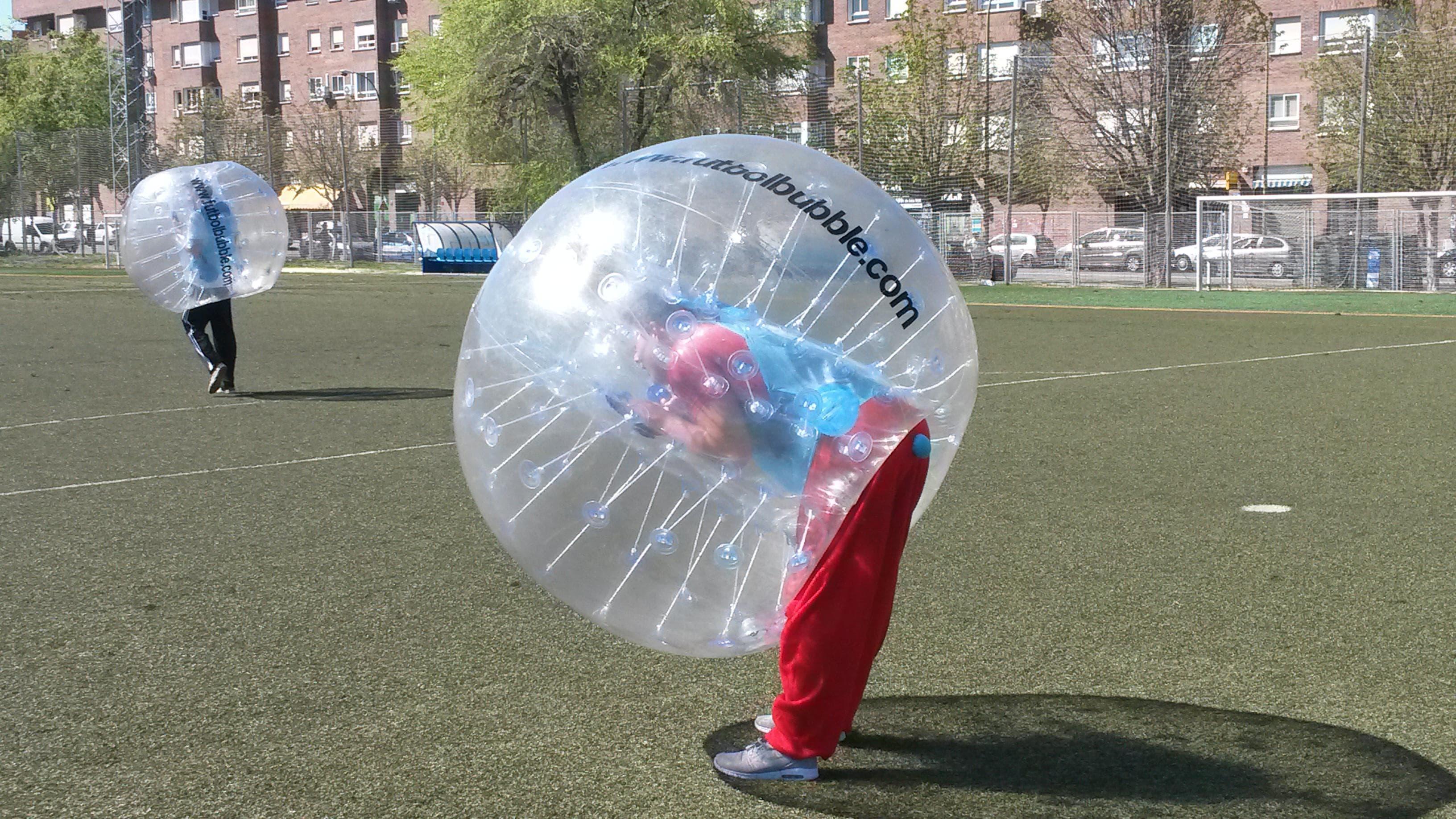 Futbol Burbuja para despedidas