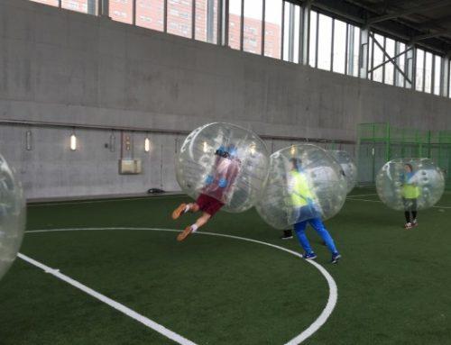 Futbol burbuja el deporte preferido