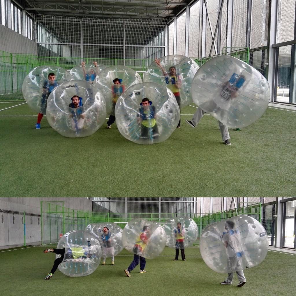 Reglas para jugar Futbol Bubble