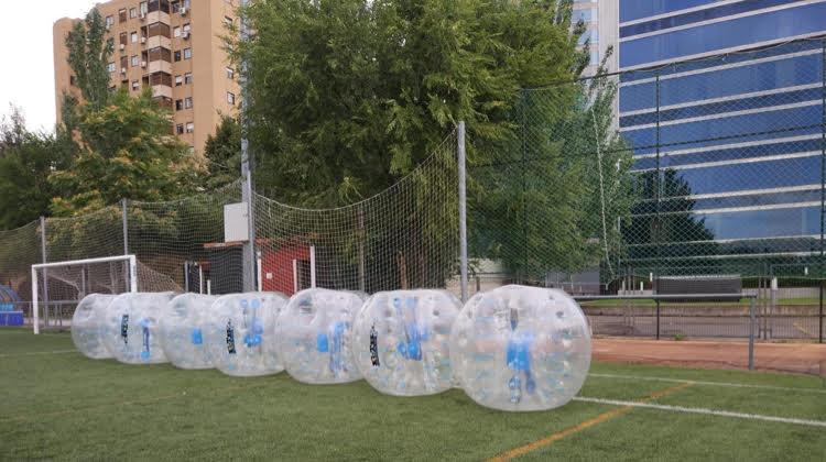 Seguridad y confort con la compra de material bubble soccer