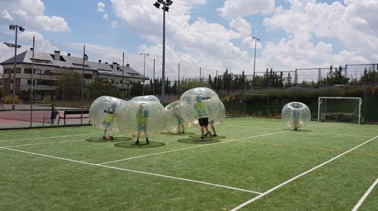 Cumpleaños para niños con Bubbles Crash