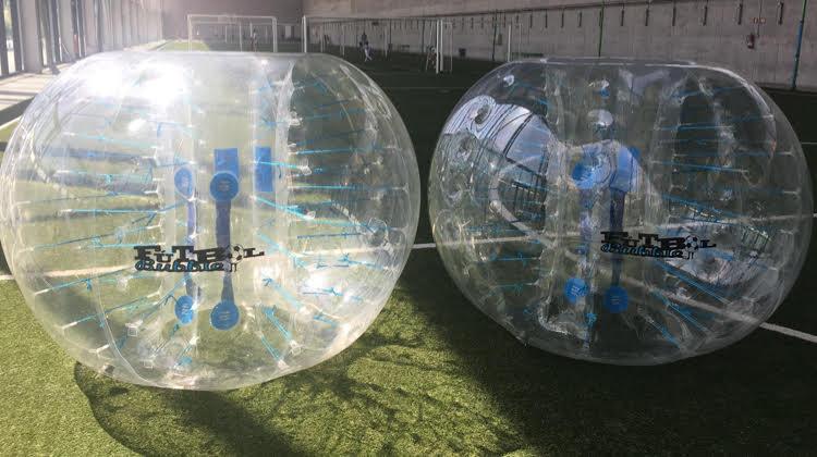 ¿Cómo son las burbujas de Bubblefootbal?