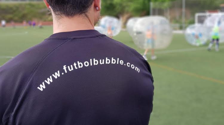 celebraciones originales futbol bubble